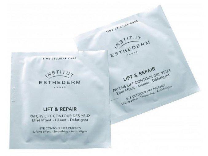 Institut Esthederm LIFT & REPAIR EYE CONTOUR LIFT PATCHES Vypínacie očné náplaste 35+ (10 x 2 ks)