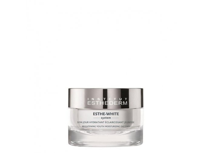Institut Esthederm ESTHE WHITE BRIGHTENING YOUTH MOISTURIZING DAY CARE (50 ml) Bieliaci hydratačný denný krém